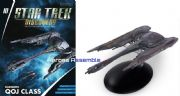 Star Trek Discovery Starships Collection #10 Klingon QOJ Class Starship Eaglemoss